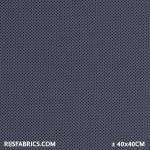 Jersey Dots 3mm Grey / Navy Dots Cotton Jersey