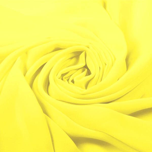 Chiffon Fabric Yellow Chiffon Fabric
