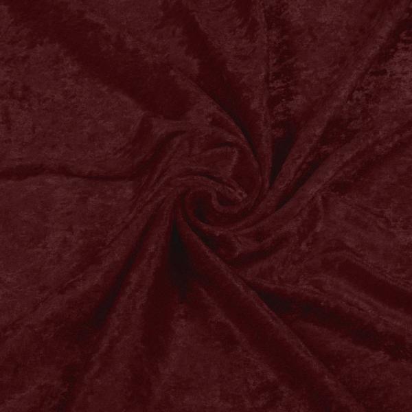 Panne Velvet Fabric Bordeaux Panne Velvet Fabric