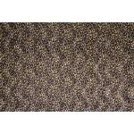 Velboa Big Leopard Brown Velboa Fabric
