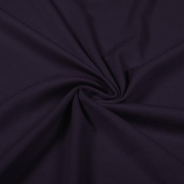 Heavy Jersey Purple Jersey Knit Fabric Heavy Weight