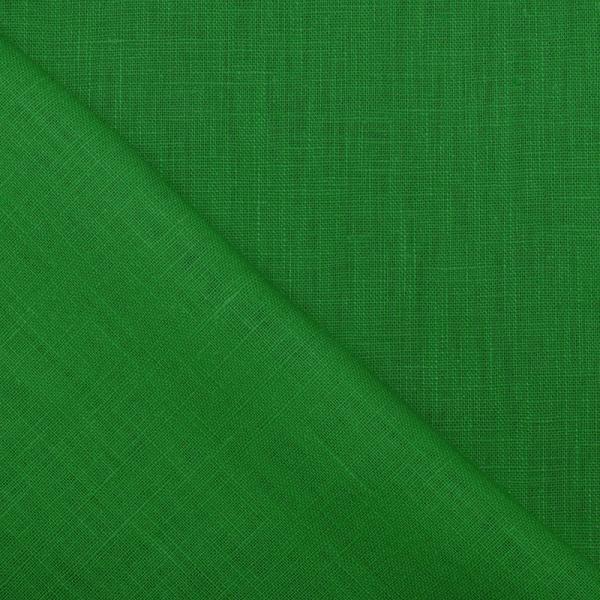 Linen Fabric Grass Green Linen Fabric Washed