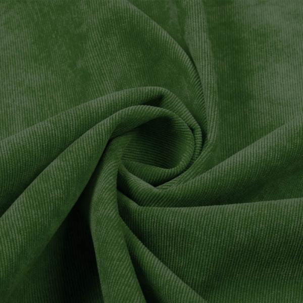 Corduroy Fabric Grass Green (Stretch) Corduroy Fabric Stretch