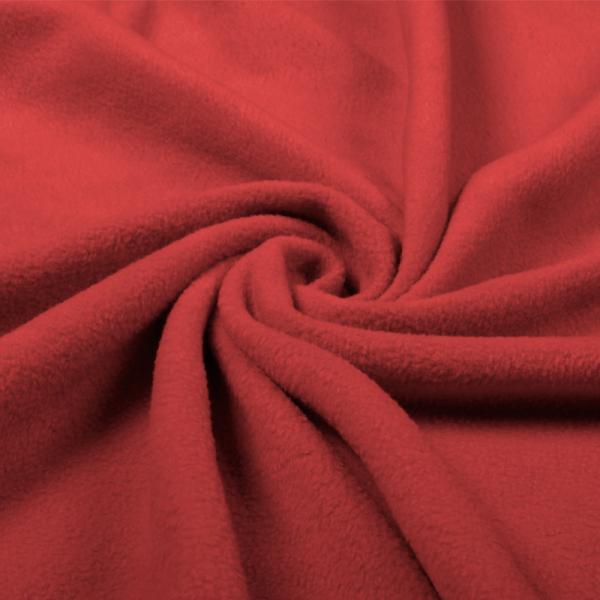 Polar Fleece Red Polar Fleece Fabric 250 g/m2