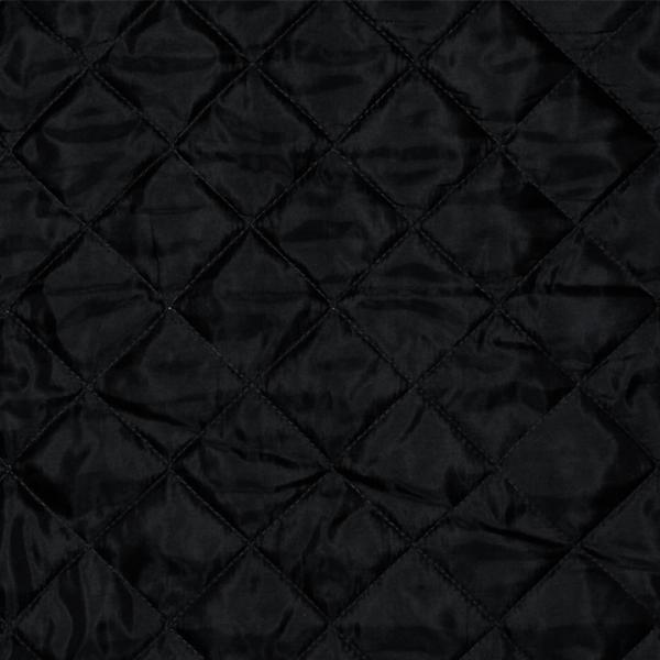 Lining Black Quilted 5cm Lining Fabric Quilted