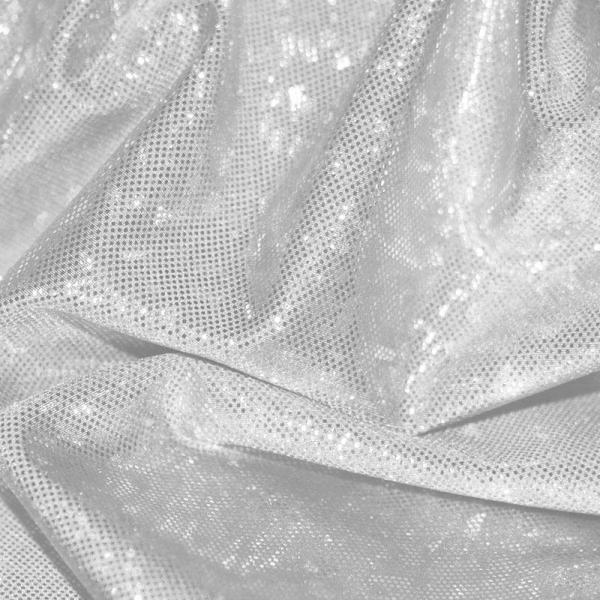 Hologram Fabric Leaf Pink Hologram Fabric