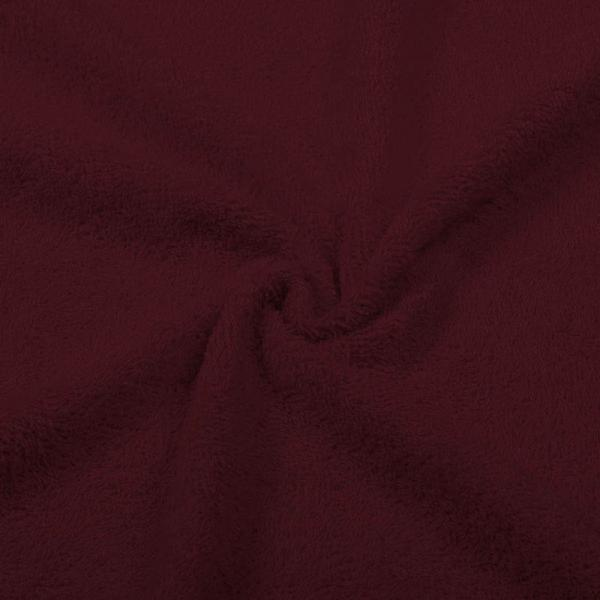 Terry Fabric Bordeaux Terry Fabric Cotton