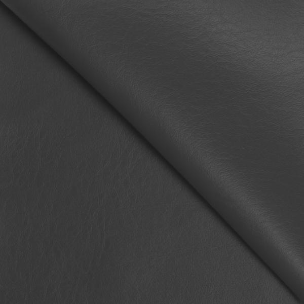 Leather Fabric Dark Grey Leather Imitation Fabric
