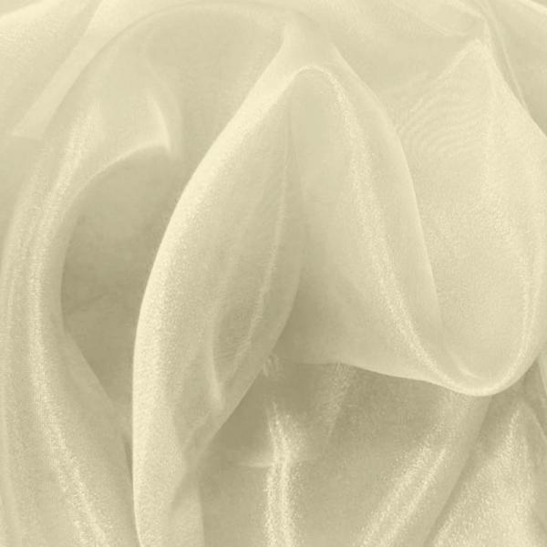 Organza Fabric Cream Organza Fabric