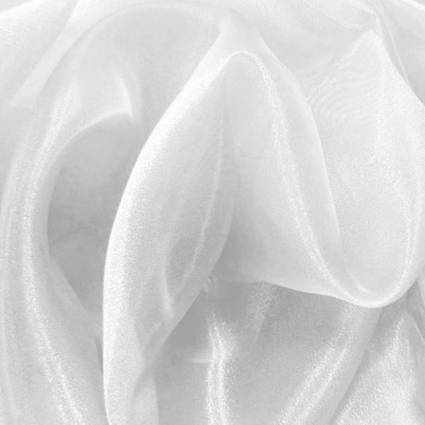 Organza Fabric White Organza Fabric