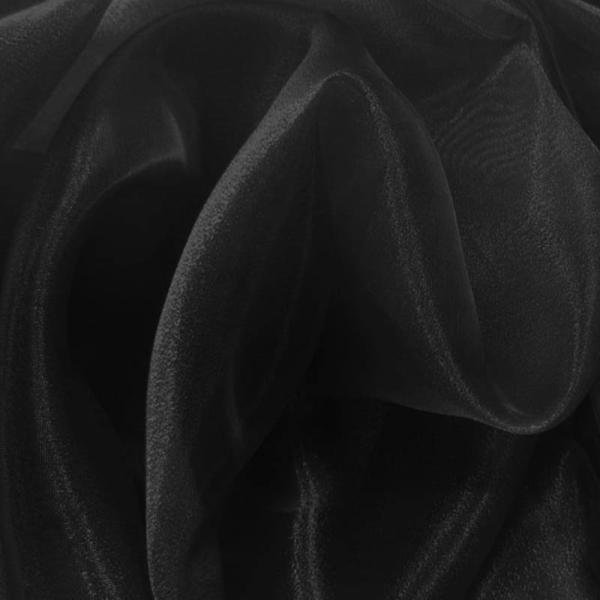 Organza Fabric Black Organza Fabric
