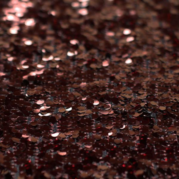 Sequin Fabric Brown Sequin Fabric