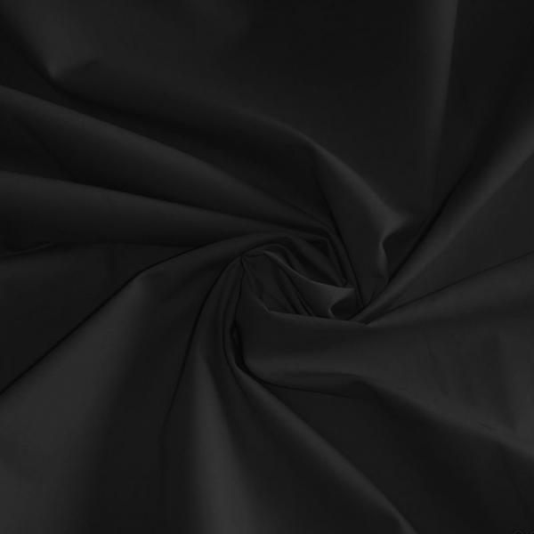 Poplin Cotton Fabric Black Poplin Cotton Fabric