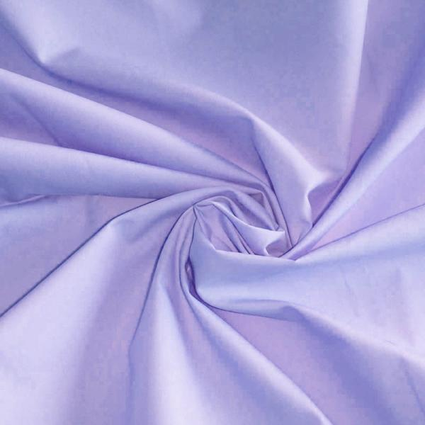 Poplin Cotton Fabric Lavender Poplin Cotton Fabric