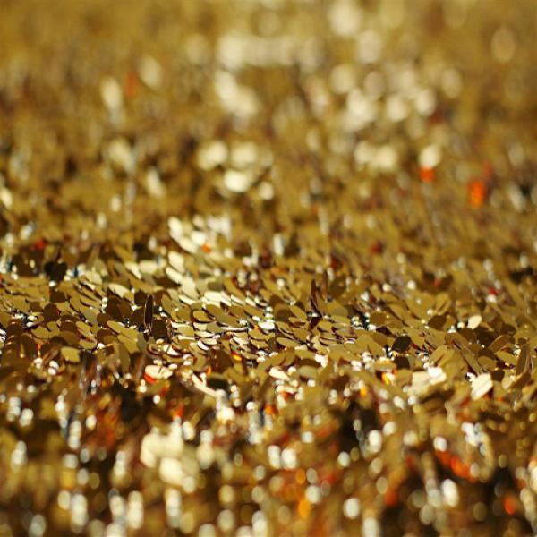 Sequin Fabric Gold Sequin Fabric