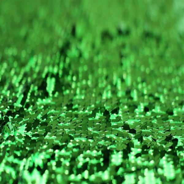 Sequin Fabric Green Sequin Fabric