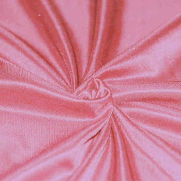 Stretch Lining Fabric Salmon Pink Stretch Lining Fabric