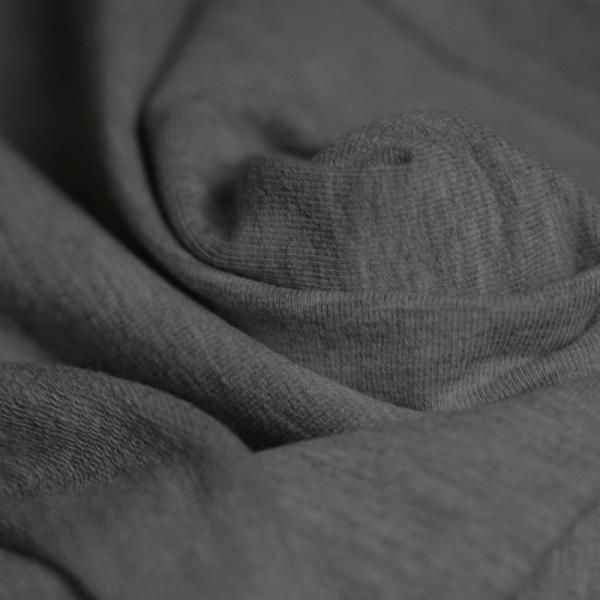 Sweat Fabric Dark Grey Melee Sweat Fabric
